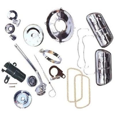 Chrom Motor Kit 1200 8/1966 bis 7/1975 bis 7/1972 13/15/1600